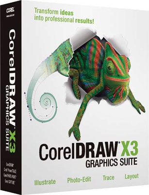 Corel Draw Graphics Suite X3