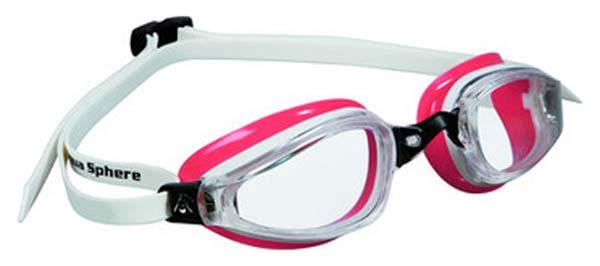Aquasphere K 180 Lady Clear Lens White/Red Obsession