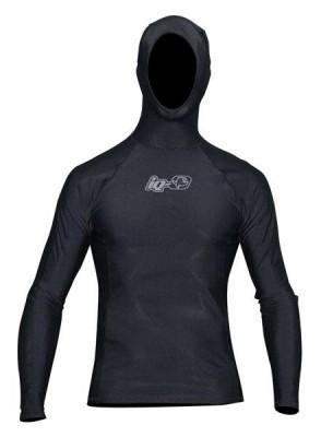 Iq-company UV 300 Hooded-Shirt LS iQ Black Man