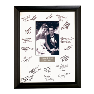 Wedding Autograph Frame