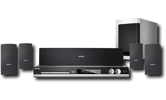 Philips HTS4550 Home Theater
